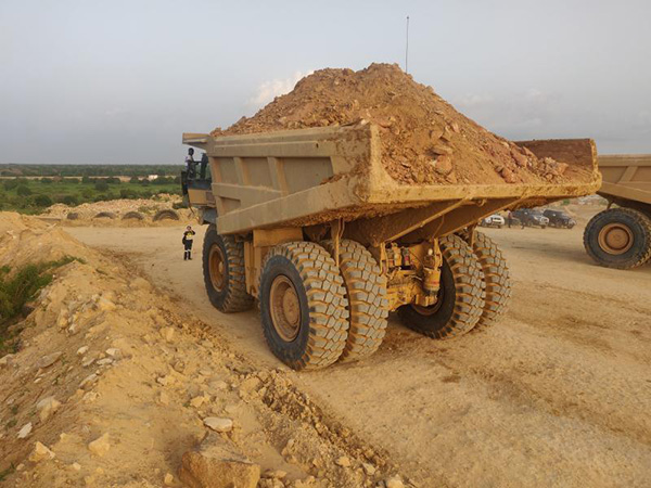 Harsh Mining Environment in Africa;no challenge for these LUAN 33.00R51 Off-the-Road Tires