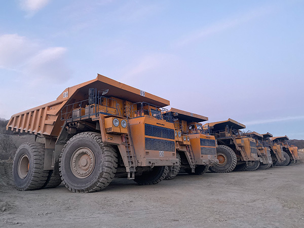 LUAN 46/90R57 Giant OTR Tires HA569 ensure profitable operation in Europe copper mine